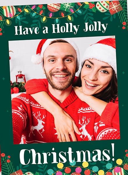 Christmas Selfie Frames